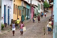 Daily life, Lencois, Chapada Diamantina, Bahia, Brazil