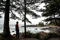 Wild Pacific Trail - Ucluelet, Vancouver Island, British Columbia, Canada.
