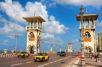 Stanley bridge. Alexandria, Egypt