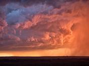 Stormy Sunset.
