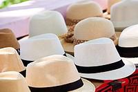 Panama hats, Panama City, Republic of Panama, Central America.