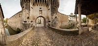 Town gate, Pernes-les-Fontaines , Provence, France