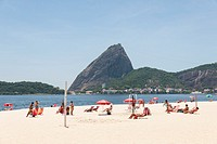 Brazil, Rio de Janeiro, Flamengo Beach.