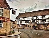 The George Inn pub, Norton Saint Philip, Bath,. Somerset. England. United Kingdom.