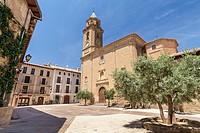 Adahuesca village, Huesca, Spain.