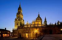 Cathedral, Santiago de Compostela.