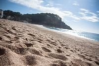 Beach, LLoret de Mar, Girona Province, Spain