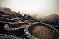 Santa Tecla celtic ruins (Pontevedra, Spain).