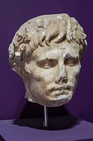 Emperor Augustus (1st Century AD). Ephes Museum. Classic Greek Collection. Asia Minor. Turkey.