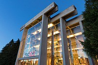 Vancouver, Canada: Museum of Anthropology at the University of British Columbia. The MOA as it's known, lies on the University Endowment Lands just to...