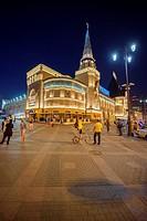 Yaroslavskiy railway station (Moscow, Russia).