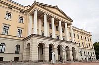 The Royal Palace, Det Kongelige Slott, Oslo, Norway.