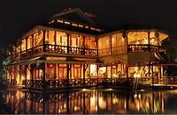 Myanmar, Yangon (Rangoon), Belmond Governor's Residence hotel.