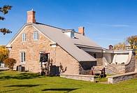 The Centre Culturel Le Chenail (Maison de L´Ile) in Hawkesbury, Ontario, Canada.