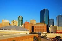 The Ft Worth Skyline.