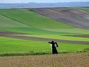 Scarecrow in Lesser Poland near Slomniki.