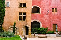 The Lawyers House in old town Vieux Lyon, France (UNESCO World Heritage Site).