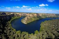 Hoces del Duraton, Duratón river gorges, Hoces del Río Duratón Natural Park, Sepulveda, Segovia province, Castilla-Leon, Spain.