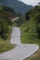 Bau-Gumbang road, Sarawak, Malaysia.