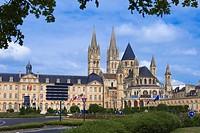 Caen, Abbaye aux Hommes, Men´s Abbey, Saint Etienne, Normandy, Calvados, Basse Normandie, France.