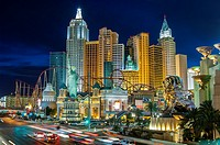 new york, new york, hotel, las vegas, nevada, usa.