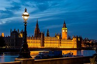 big ben; westminster; houses of parliamen;t night; london; england ;uk;.
