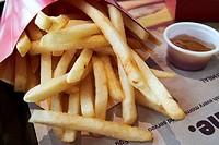 McDonalds fries and sauce usa.