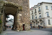 Porte saint pierre en Nantes. Paises del Loira. Francia. Europa.