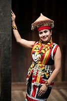 Miss World Harvest Photogenic in Sarawak Cultural Village, Damai, Sarawak, Malaysia