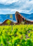 YSIOS WINERY, This pixilated-looking landmark was designed by architect Santiago Calatrava and opened its doors in 2001. This extremely long building ...