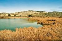 Mar de Ontígola Reservoir in Aranjuez, Madrid. Spain.