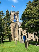 Holy Trinity Parish Church at Dacre Banks North Yorkshire England.