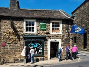 The Oldest Sweet Shop in England at Pateley Bridge North Yorkshire England.