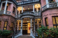 One Xintiandi, a Clubhouse of the Shui On Group that refurbished this period mansion built in 1920s, Shanghai, China.