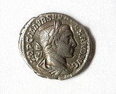 antique roman coin.