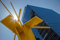 Tatlin's Sentinel by John Henry, Arts District, Dallas, Texas, USA.