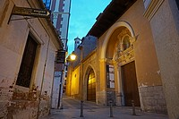 Old street. Teruel, Aragon, Spain, Europe.