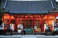 Japan, Tokyo, Asakusa Shinto Shrine,.