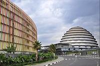 Rwanda, Kigali, Radisson htl and convention center.