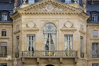 Ministry of Culture and Communication building attached to Palais Royal, Paris France.