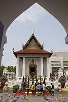 Temple of the Princess. Bangkok, Thailand, Asia.