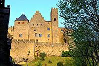 Fortified city of Carcassone, Languedoc-Rousillon, France.