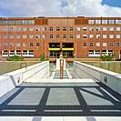 Italy, Lombardy, Milan, Bicocca District, State University Bicocca by Gregotti Architect & Associates. . . .