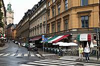 Storkyrkobrinken. Gamla Stan. Stockholm. Sweden. Scandinavia.