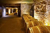 Clos des Menuts, Saint Emilion Grand Cru Wine cellar. Bordeaux wine region. Aquitaine Region, Gironde Department. France Europe.
