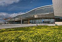 Trade Fairs and Congress Center, Malaga, Region of Andalusia, Spain, Europe.
