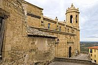 Church of Santa Maria la Mayor, La Fresneda, Matarraña, Teruel province, Aragon, Spain