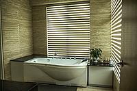 Hotel bathtub and spa, Penang, Malaysia.