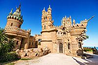 Castle monument of Colomares. Is a monument honoring Cristopher Colombus and the discovery of America. Was built between 1987 and 1994 and It is a com...