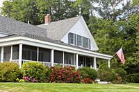 A home in Wellfleet, Cape Cod, Massachusetts, United States, North America.